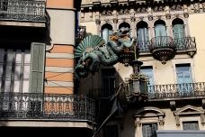 Street Lamp, Las Ramblas, Barcelona