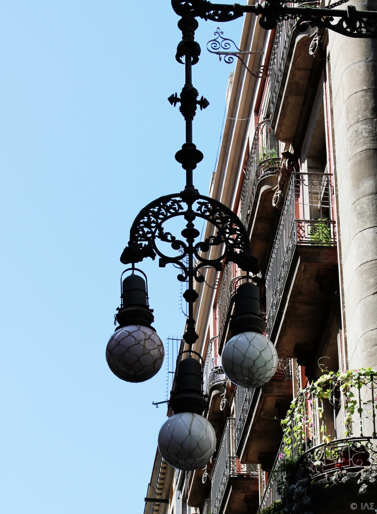 Street Lamp Week- Day 6: Not an Earring from Barcelona